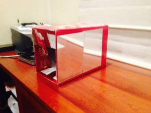 Homemade Mirror Box